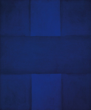 Image of Ad Reinhardt Painting at KM Art Advisory, Kimberly Marrero Art Advisor New York