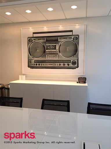 Sparks Boom Box - KM Art Advisory, Kimberly Marrero Art Advisor New York